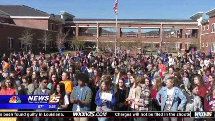 News video: National School Walkout: Ocean Springs High