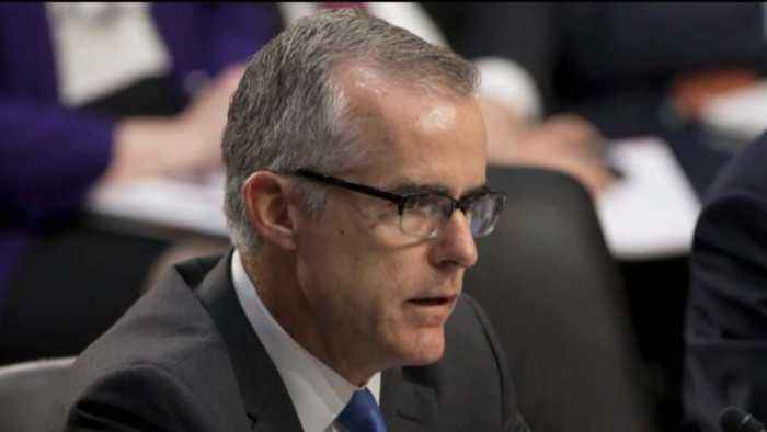 Former FBI deputy director Andrew McCabe faces possible firing