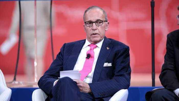 Report: Trump Picks Larry Kudlow to Replace Gary Cohn