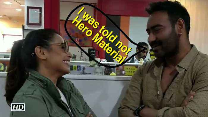 News video: When Ajay Devgn was told: Ordinary looking & not Hero Material