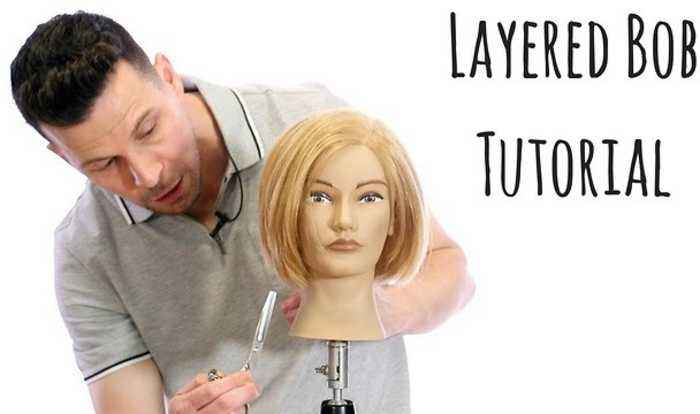 Layered Bob Haircut Tutorial Step By Step How One News