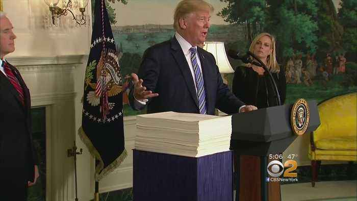 Trump: I'll 'Never Sign Another Bill Like This Again'