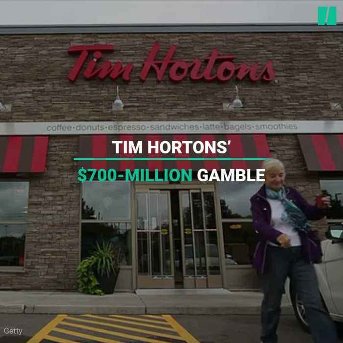 News video: Tim Hortons' $700-Million Bet Isn't Sitting Well With Franchise Owners.