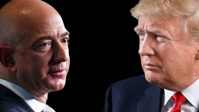 The history of Trump and Amazon's long-standing feud