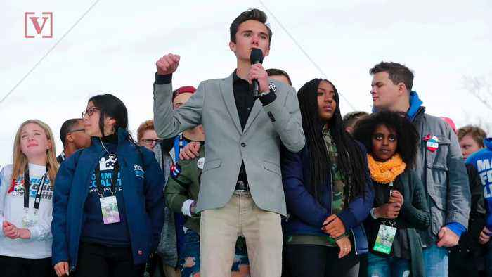 Parkland Shooting Survivor David Hogg Takes Aim At Senator John McCain