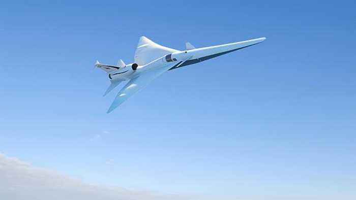 News video: NASA's new X-Plane will be supersonic but also super quiet