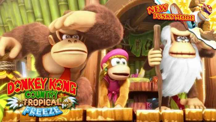 News video: Donkey Kong Country: Tropical Freeze - Nintendo Switch Gameplay Trailer