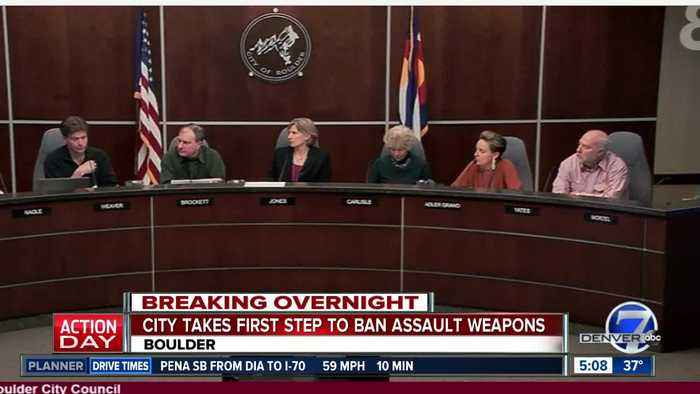 Boulder City Council moving forward with 'assault' weapon ban