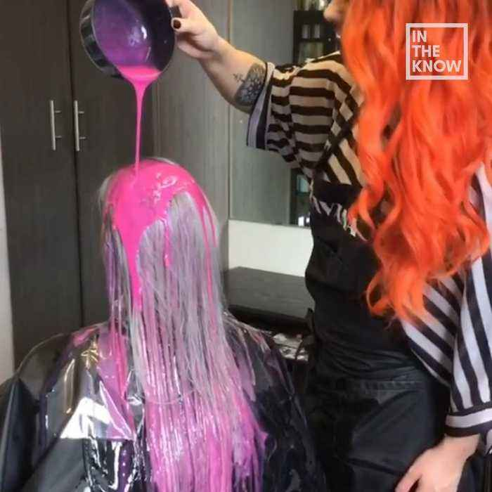 Drip Dyed Hair Is An Artsy Way To Color Your One News Page Video