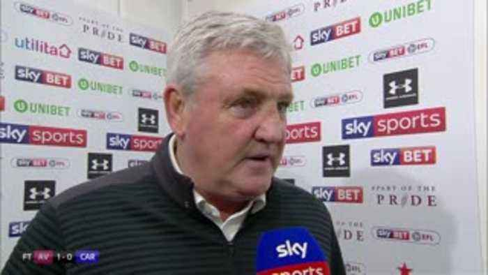News video: Bruce delighted with Villa response