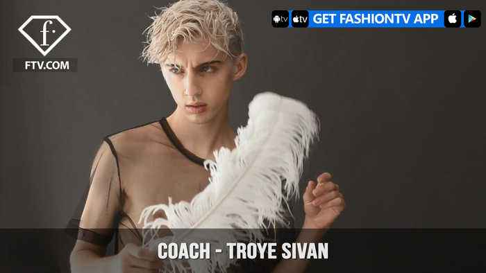 News video: Troye Sivan Coach Behind-The-Scenes Wonderland Magazine Spring 2018 Covershoot| FashionTV | FTV