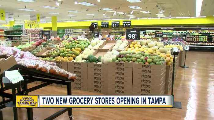News video: New Fresco y Más grocery stores open in Tampa bringing new Latin food options