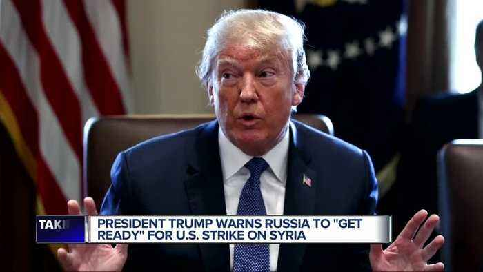 News video: Trump warns Syria missiles will be coming, calls Bashar al-Assad a 'gas killing animal'