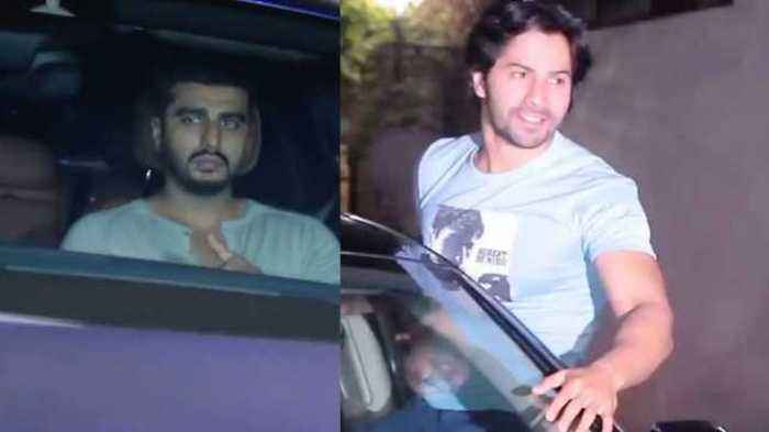 October Movie Grand Screening Varun Dhawan, Arjun Kapoor, Taapsee Pannu, Huma Qureshi