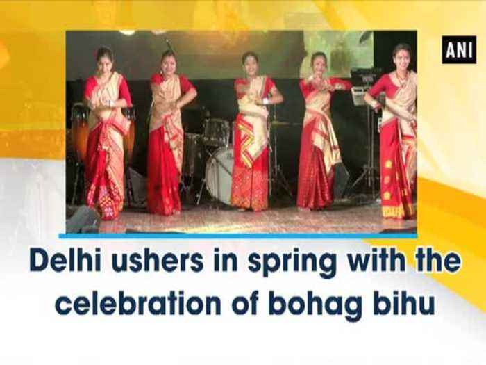 Delhi ushers in spring with the celebration of bohag bihu