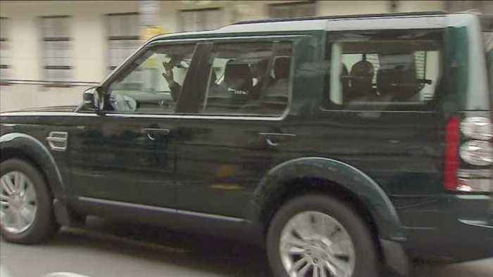 News video: 96-year-old Prince Philip leaves the hospital