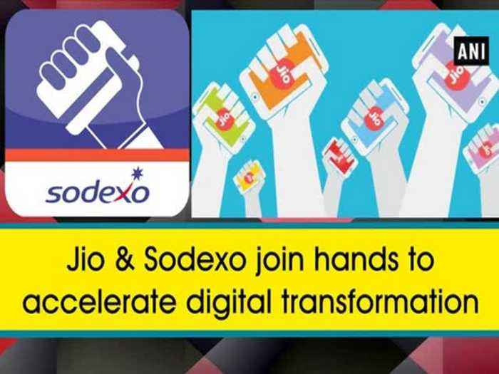 News video: Jio & Sodexo join hands to accelerate digital transformation