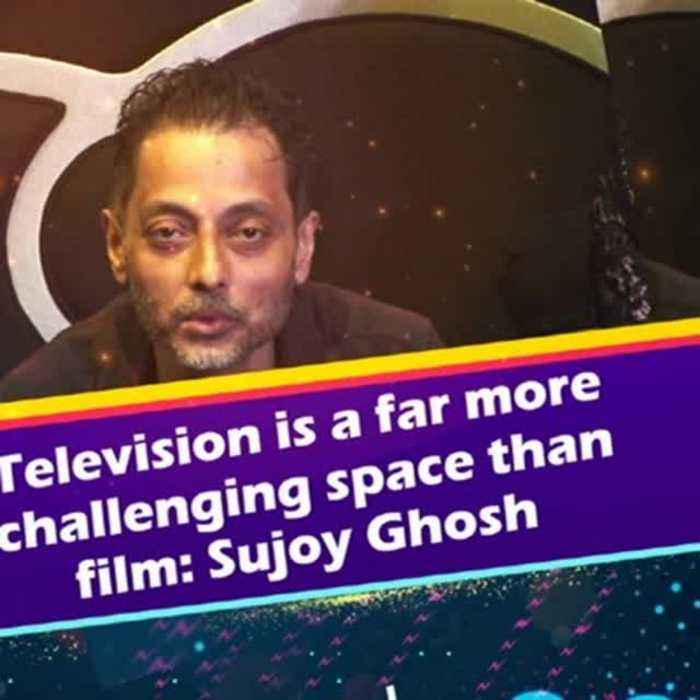News video: Television is a far more challenging space than film: Sujoy Ghosh