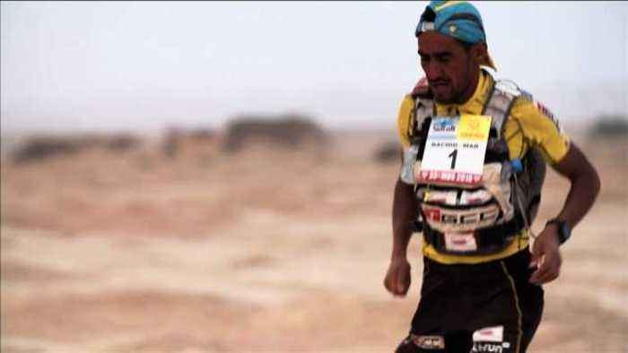 News video: El Morabity, Boulet wrap up Marathon des Sables victory after gruelling fifth stage
