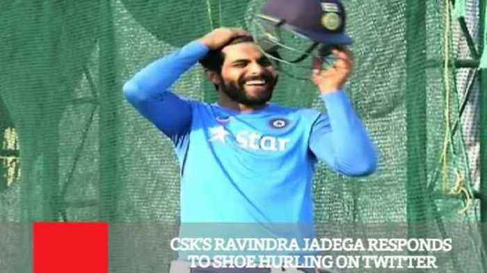 News video: CSK's Ravindra Jadega Responds To Shoe Hurling On Twitter