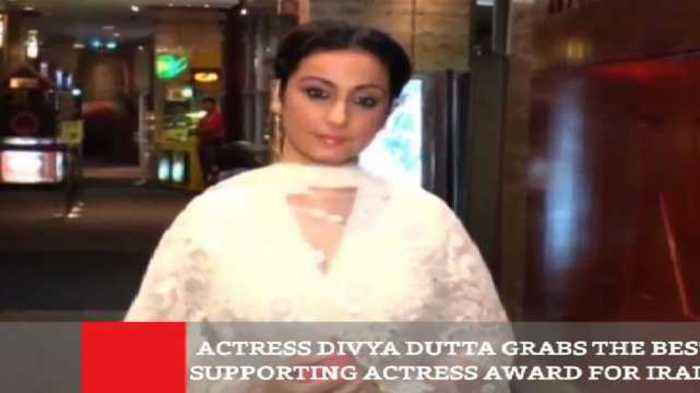 Actress Divya Dutta Grabs The Best Supporting Actress Award For Irada