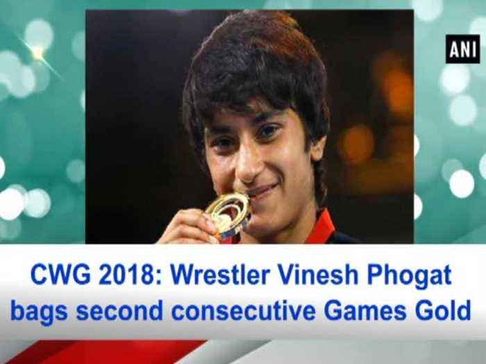 News video: CWG 2018: Wrestler Vinesh Phogat bags second consecutive Games Gold
