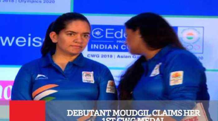 News video: Debutant Moudgil Claims Her 1st CWG Medal