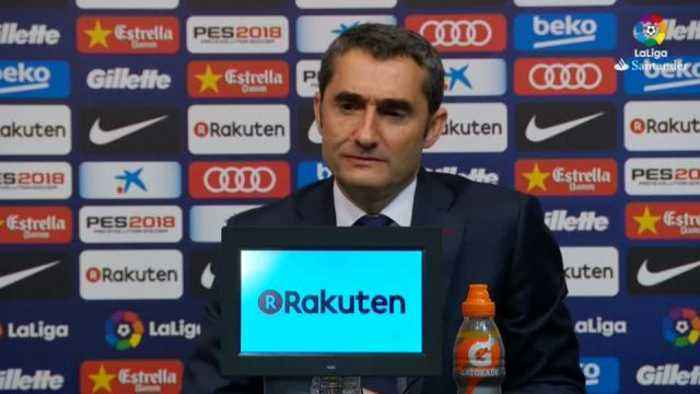 News video: Valverde praises Barca for bouncing back from Roma shock