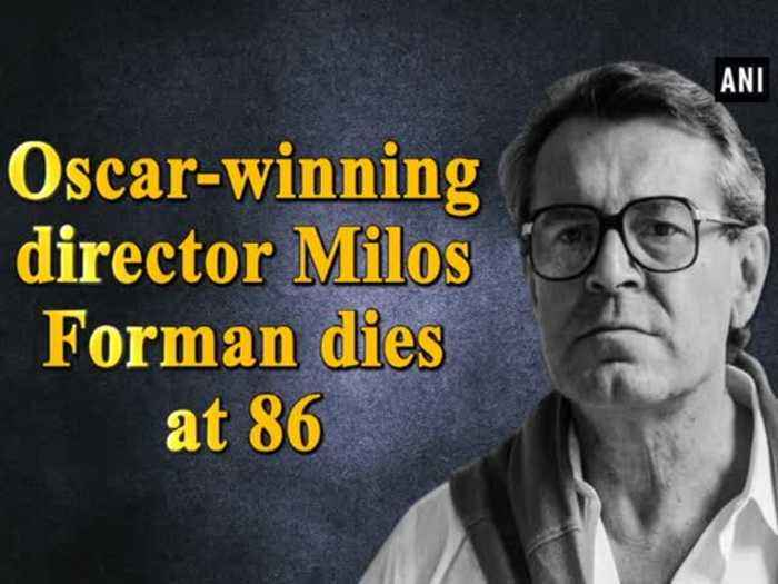 News video: Oscar-winning director Milos Forman dies at 86