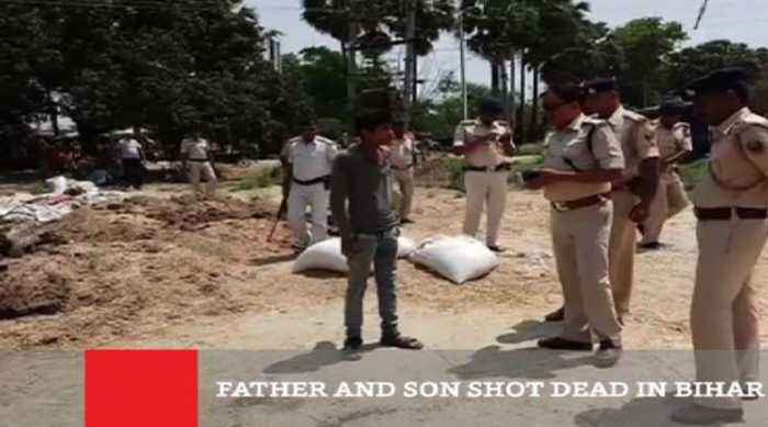 Father And Son Shot Dead In Bihar