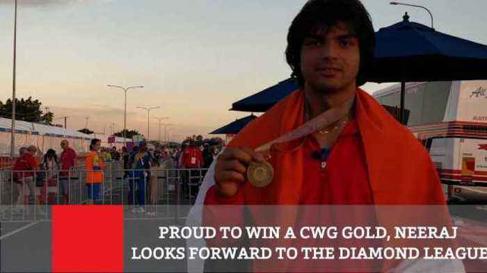Proud To Win A CWG Gold, Neeraj Looks Forward To The Diamond League