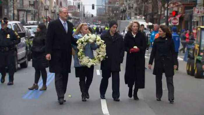 Boston marks five years since marathon bombings