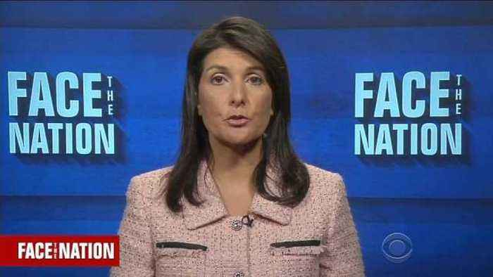 News video: U.S. troops not leaving Syria until goals accomplished: Haley