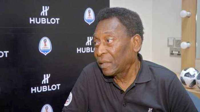 Pele talks up Brazil's World Cup chances, questions more teams in tournament