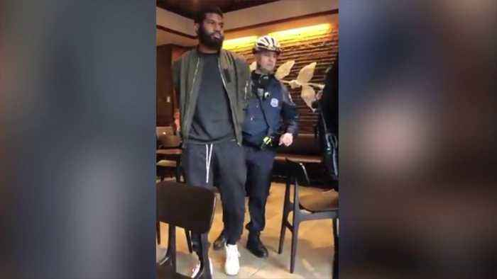 News video: Starbucks Apologizes After Two Black Men Arrested While Waiting for Friend in Philadelphia Store