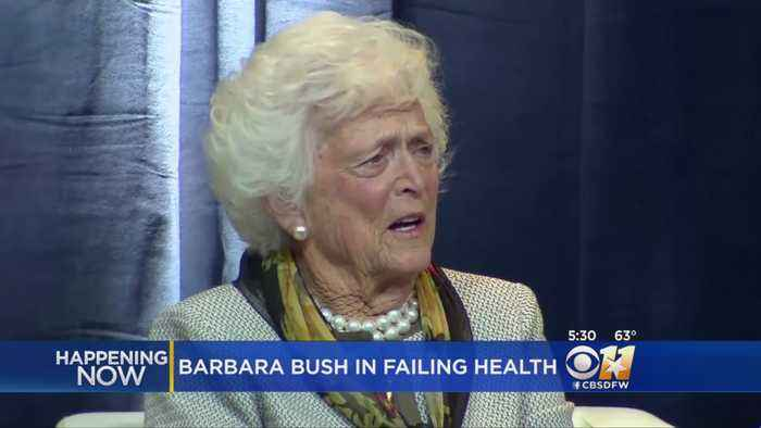 Barbara Bush In Failing Health, Won't Seek Additional Medical Treatment