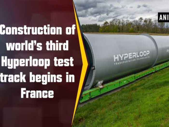 News video: Construction of world's third Hyperloop test track begins in France