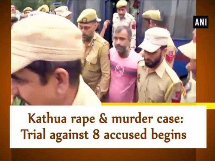News video: Kathua rape & murder case: Trial against 8 accused begins