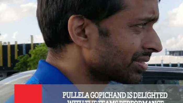 News video: Pullela Gopichand Is Delighted With The Teams Performance