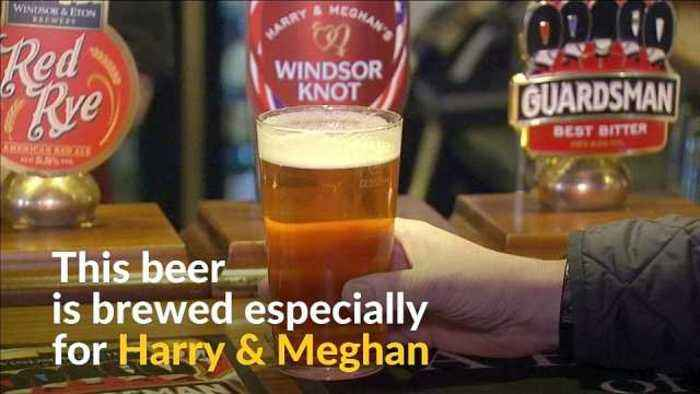 Royal love brewing: new Windsor beer celebrates Harry & Meghan's wedding