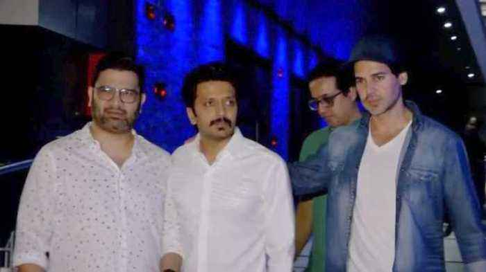 Riteish Deshmukh, Dino Morea And Harman Baweja SPOTTED AT Hakkasan, Bandra