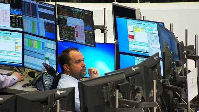 News video: Bond yields rise & oil prices drop as Syria fears ebb