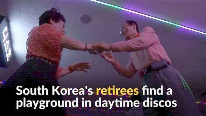 News video: Aging Korea: eldery find respite in daytime discos