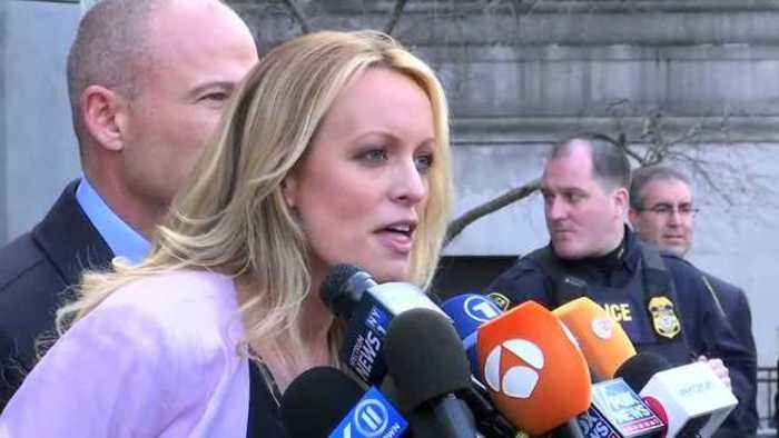 News video: Stormy Daniels says 'committed' to truth, facts behind Cohen case