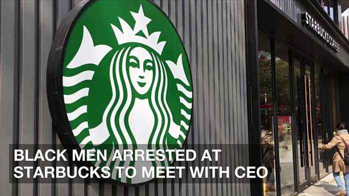 Black Men Arrested at Starbucks to Meet With CEO