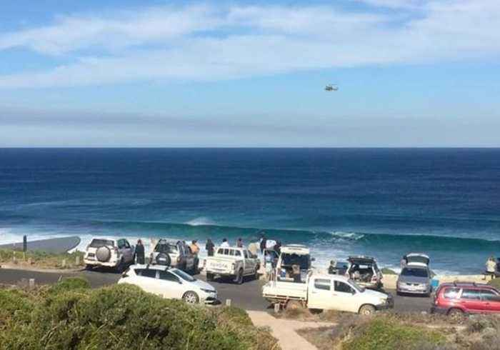 News video: Shark Attack Victim Airlifted From Western Australia Beach