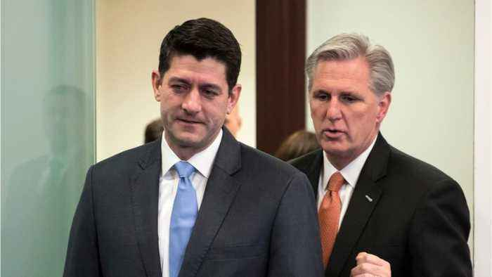 News video: Drama Over House Speakership Pits Paul Ryan Against Kevin McCarthy