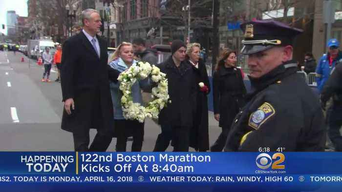 Runners To Take Part In 122nd Boston Marathon