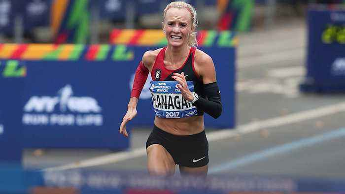 News video: Shalane Flanagan Hopes To Make History At This Years Boston Marathon