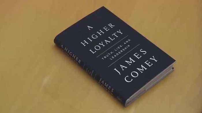 News video: Comey Calls Trump 'Morally Unfit To Lead' As New Book Hits Shelves